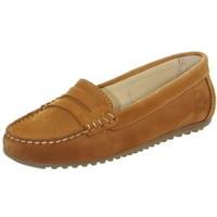 Chaussures Femme Mocassins Tucs Mocassins femme  ref_49177 Cognac Marron