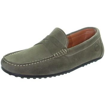 Chaussures Homme Mocassins Tucs Mocassins  ref_49182 Kaki Vert