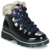 Chaussures Fille Boots Pablosky 489629-J Bleu
