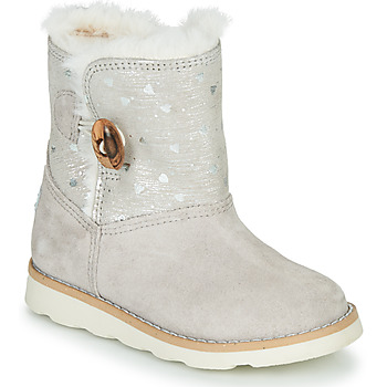 Chaussures Fille Boots Pablosky 491506 Gris