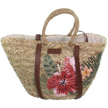 Sacs Femme Cabas / Sacs shopping Le Voyage En Panier Panier  ref_49088 Naturel 50*30*20 Naturel