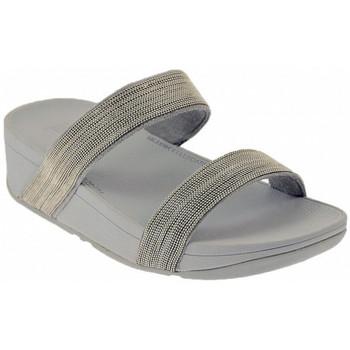 Chaussures Femme Mules FitFlop LOTTIE SHIMMERMESH SLIDE Sandales Multicolore