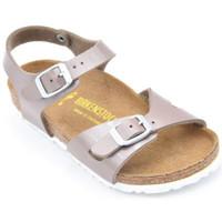 Chaussures Fille Sandales et Nu-pieds Birkenstock rio enfants Beige