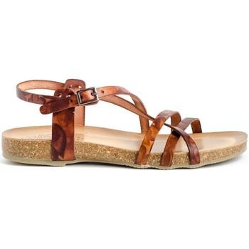 Chaussures Femme Sandales et Nu-pieds Porronet 2615 Marron