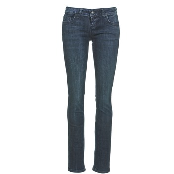 Vêtements Femme Jeans droit LTB ASPEN Bleu Foncé