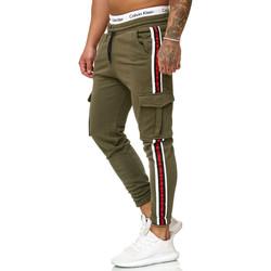 Vêtements Homme Pantalons de survêtement Cabin Pantalon jogging treillis Jogging R-1224 vert Vert