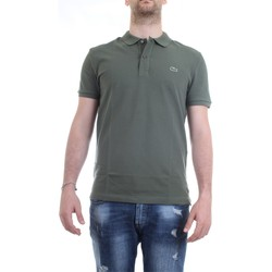 Vêtements Homme Polos manches courtes Lacoste PH4012 polo homme Vert kaki Vert kaki