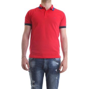 Vêtements Homme Polos manches courtes Sun68 A30107 polo homme Rouge Rouge