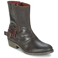 Chaussures Femme Boots Kickers AMERIKO Marron