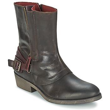 Bottines / Boots Kickers AMERIKO Marron 350x350