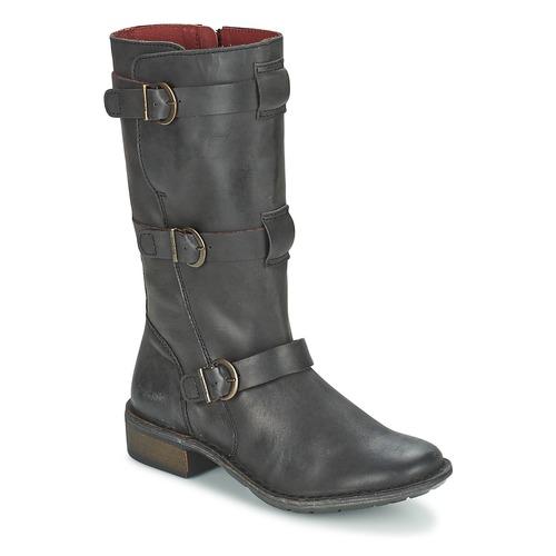 Chaussures Femme Bottes ville Kickers GROWUP Noir