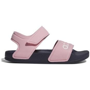 Chaussures Fille Sandales et Nu-pieds adidas Originals Adilette Sandal Rose