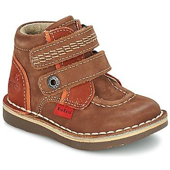 Chaussures Garçon Boots Kickers WAPA Marron