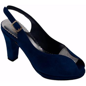 Chaussures Femme Sandales et Nu-pieds Angela Calzature ANSANGC480blu blu