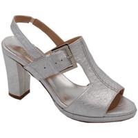 Chaussures Femme Sandales et Nu-pieds Angela Calzature ANSANGC133arg argento
