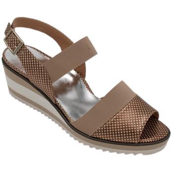 Chaussures Femme Sandales et Nu-pieds Angela Calzature ANSANGC225bg beige