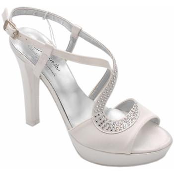 Chaussures Femme Sandales et Nu-pieds Angela Calzature Sposa E Cerimon ASPANGCA7091bc bianco