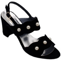 Chaussures Femme Sandales et Nu-pieds Angela Calzature ANSANGC243nr nero