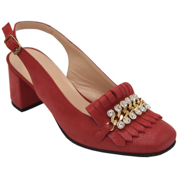 Chaussures Femme Sandales et Nu-pieds Angela Calzature AANGC1116rosso rosso