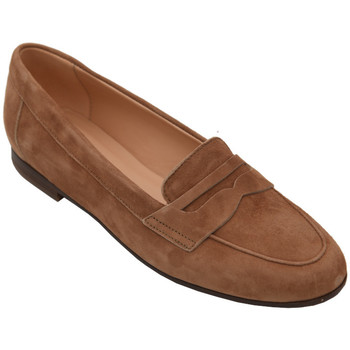 Chaussures Femme Mocassins Frau AFRAU9356cuoio marrone
