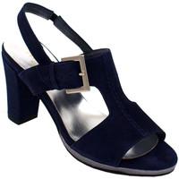 Chaussures Femme Sandales et Nu-pieds Angela Calzature ANSANGC133blu blu