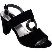 Chaussures Femme Sandales et Nu-pieds Angela Calzature ANSANGC460nr nero
