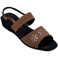 Chaussures Femme Sandales et Nu-pieds Angela Calzature Numeri Speciali AICE2009marr marrone