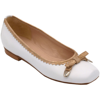 Chaussures Femme Ballerines / babies Angela Calzature ANSANGC702bia bianco