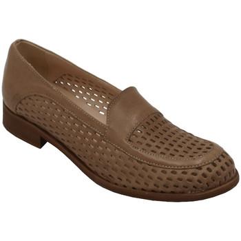 Chaussures Femme Mocassins Angela Calzature AANGC2001cuoio beige