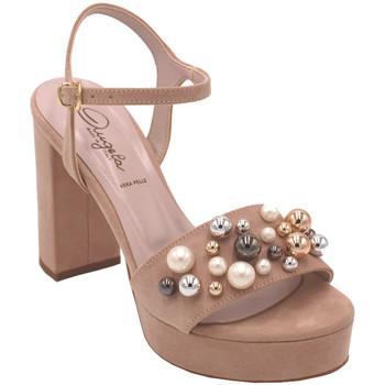 Chaussures Femme Sandales et Nu-pieds Angela Calzature AANGC492PL004nude rosa