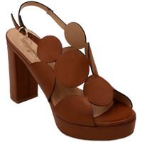 Chaussures Femme Sandales et Nu-pieds Angela Calzature AANGC492PL010cuoio marrone