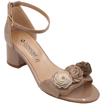 Chaussures Femme Sandales et Nu-pieds Confort ACONFORT8422bg beige