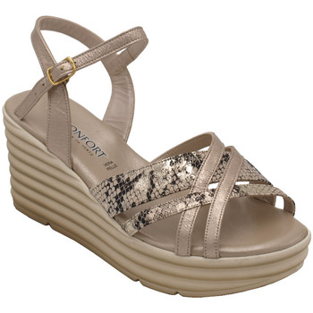 Chaussures Femme Sandales et Nu-pieds Confort ACONFORT7023bg beige