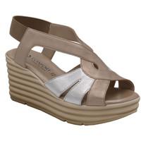 Chaussures Femme Sandales et Nu-pieds Confort ACONFORT7032 beige