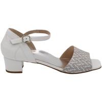 Chaussures Femme Sandales et Nu-pieds Angela Calzature Numeri Speciali ANSANGC910gr bianco