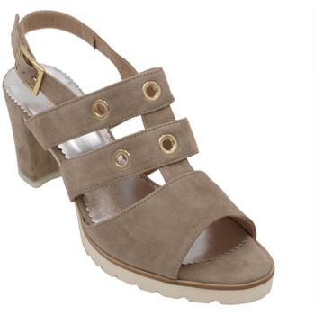 Chaussures Femme Sandales et Nu-pieds Angela Calzature ANSANGC927bg beige