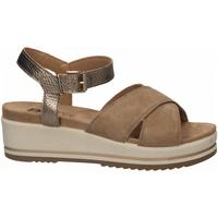 Chaussures Femme Sandales et Nu-pieds Enval D SN 52934 beige-scuro