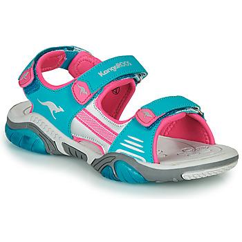 Chaussures Enfant Sandales sport Kangaroos Sandalshine Bleu / Rose