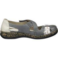 Chaussures Femme Sandales et Nu-pieds Rieker 463h9 bleu