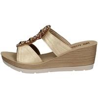 Chaussures Femme Mules Inblu EL 9 PLATINE