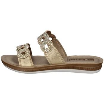 Chaussures Femme Mules Inblu BA 23 PLATINE