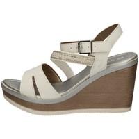 Chaussures Femme Sandales et Nu-pieds Inblu IK 9 BLANC