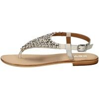 Chaussures Femme Sandales et Nu-pieds Keys K-1706 BLANC