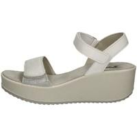 Chaussures Femme Sandales et Nu-pieds Imac 508300 ARGENT