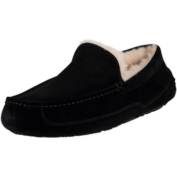 Chaussures Homme Chaussons UGG Chaussons en daim Ascot noir