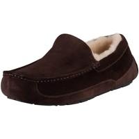 Chaussures Homme Mocassins UGG Chaussons en daim Ascot marron