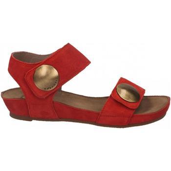 Chaussures Femme Sandales et Nu-pieds Ca Shott SUEDE rosso