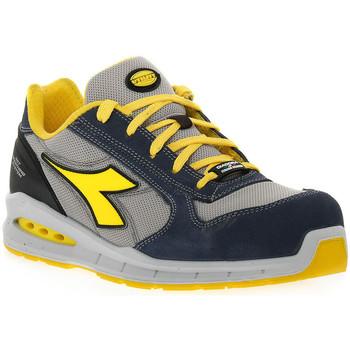 Chaussures Homme Chaussures de sécurité Diadora UTILITY RUN NET AIRBOX LOW Blu