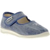 Chaussures Fille Ballerines / babies Emanuela JEANS SANDALO Blu