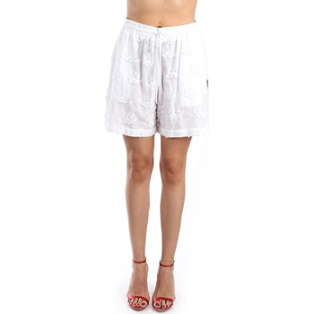 Vêtements Femme Shorts / Bermudas Love Moschino WO125 80 T9729 blanc